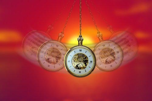 hypnosis  clock  pocket watch