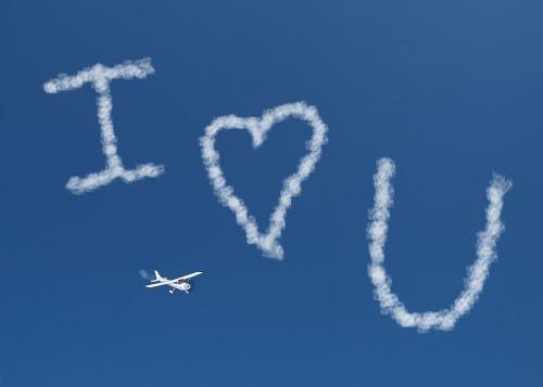I Love You Skywriting