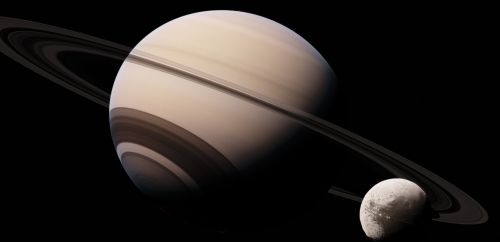 iapetus saturn astronomy