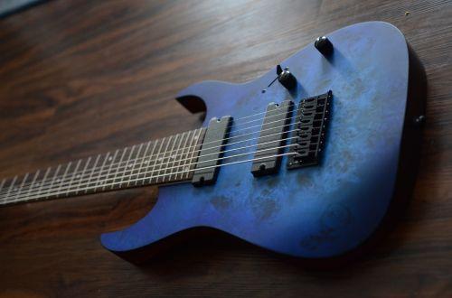 ibanez rg8pb blue guitar