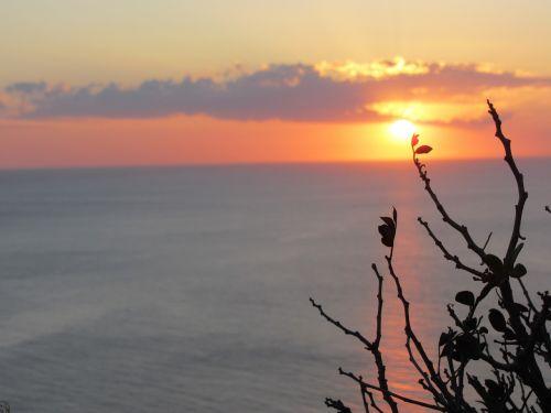 ibiza sunset peaceful