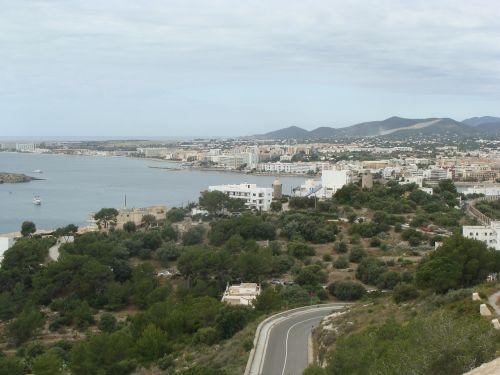 ibiza port on the island of ibiza