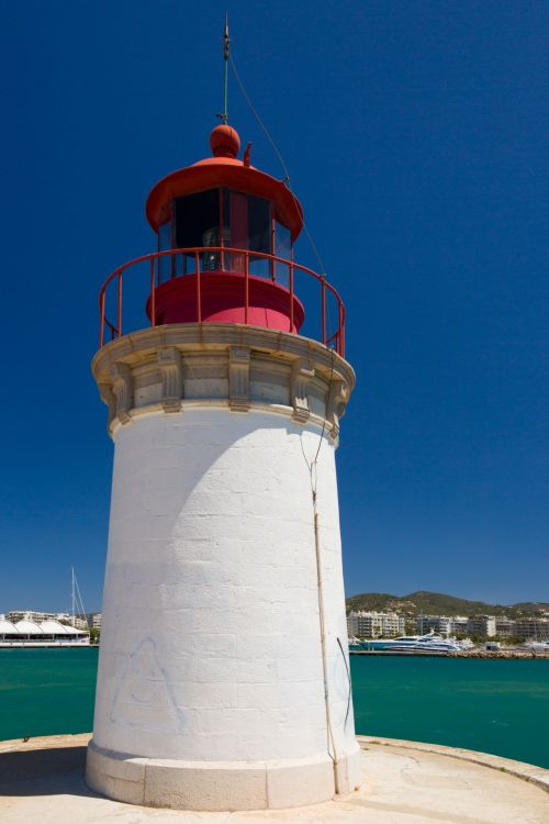 Ibiza Town Lighthouse
