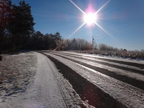ice snow icy