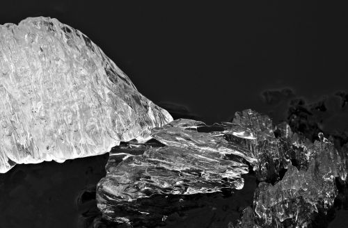 ice melt snow