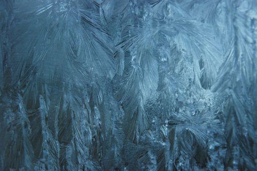 ice eiskristalle window