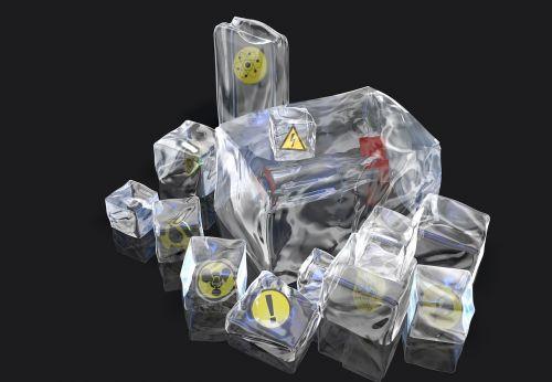 ice yellow icons pump