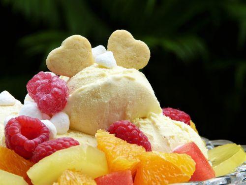 ice ice cream ice cream sundae