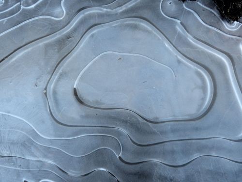 ice puddle spiral