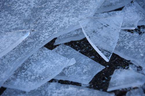 ice winter frozen