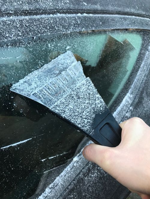 ice ice scraper winter