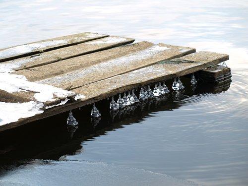 ice  water  november