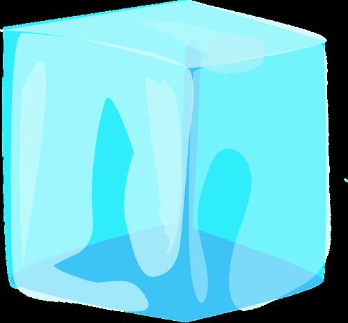 ice cube blue