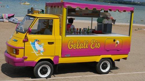 ice  summer  ice cream vendor