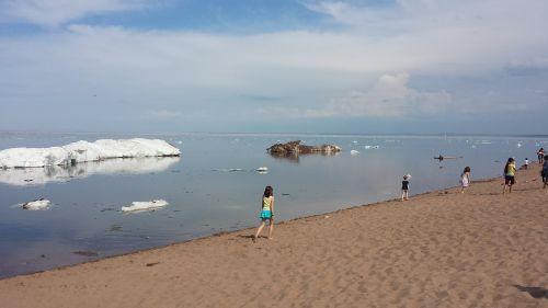 ice summer lake