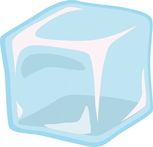 ice cube transparent