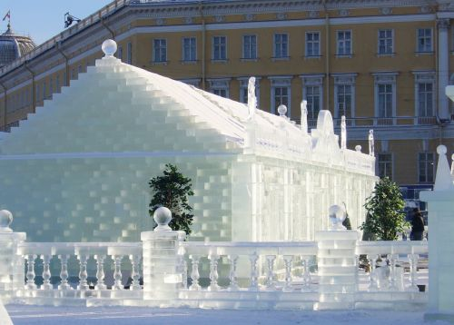 ice palace st petersburg russia