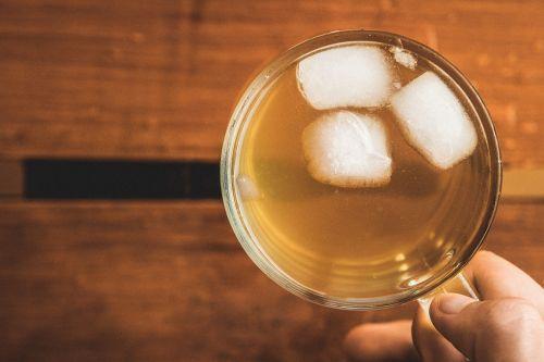 ice iced tea drink
