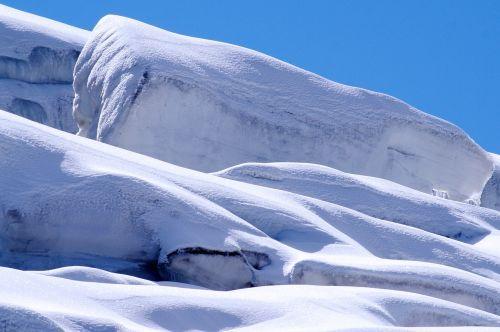 ice glacier nature