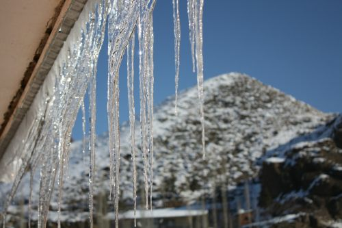 ice winter icicle