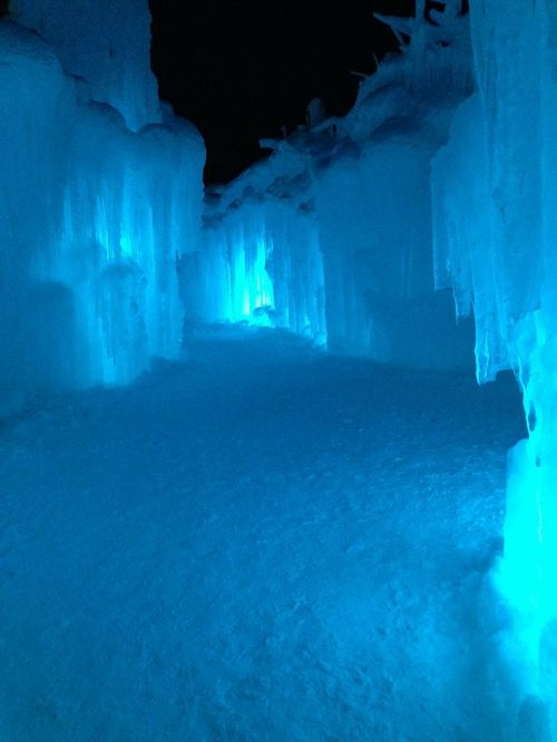 ice cave cave ice castle