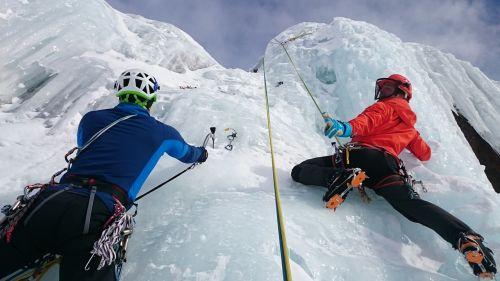 ice climbing ice climb