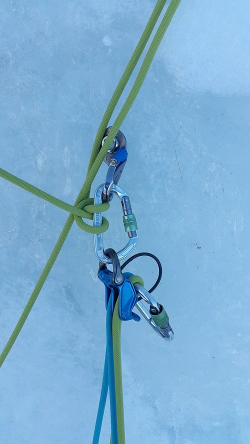 ice climbing stand winter sports