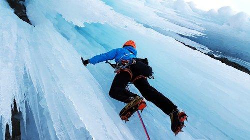 ice climbing  extreme sports  climb