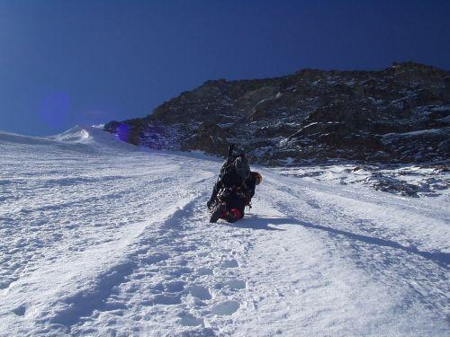 ice climbing north wall big horn