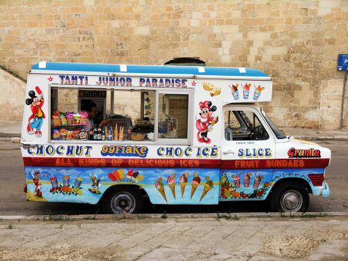 ice cream ice ice cream truck