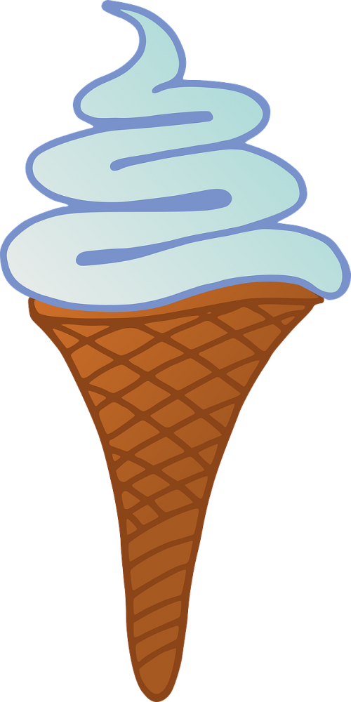ice cream desert sweet