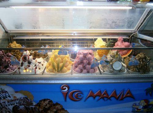 ice cream scoops colors