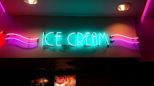 ice cream advert announcement