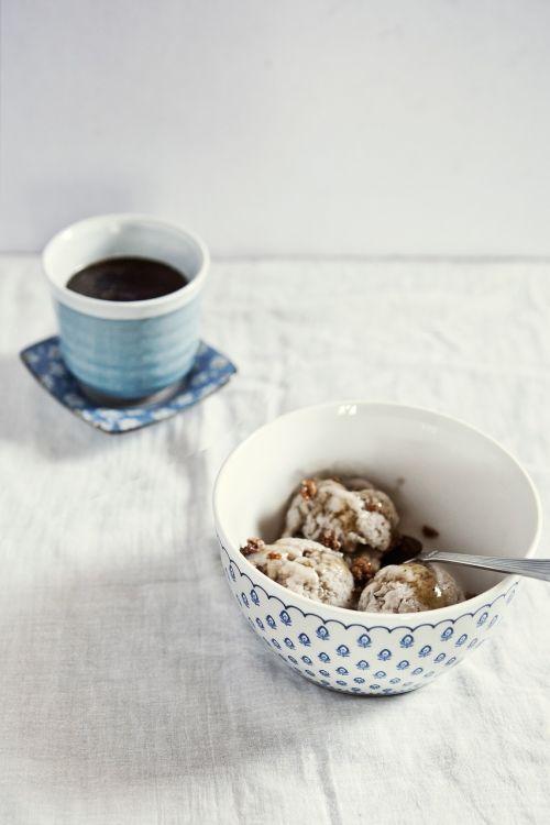ice cream coffee dessert