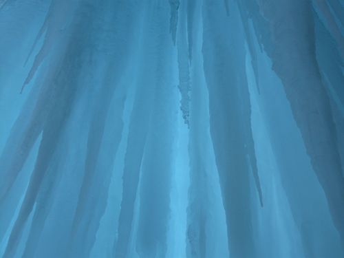 ice curtain blue shimmer