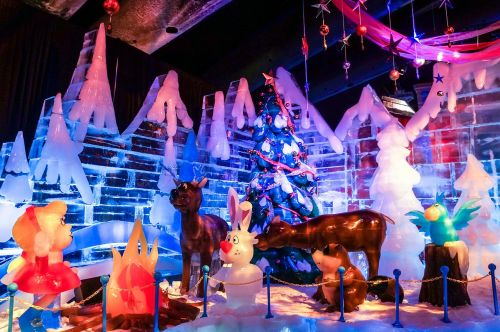 ice exhibit gaylord palms hotel orlando