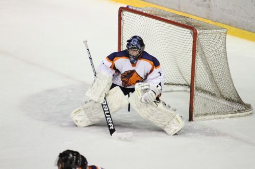 ice hockey winter sports goal keeper