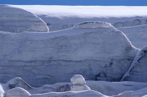ice landscape ice glacier