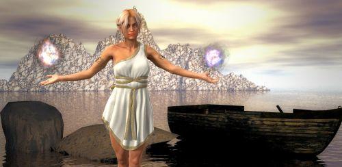 ice queen woman fantasy