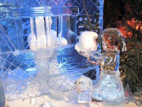 ice sculpture ice festival