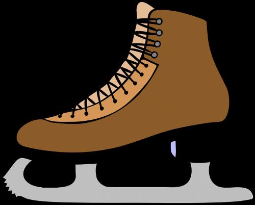 ice skates ice shoe