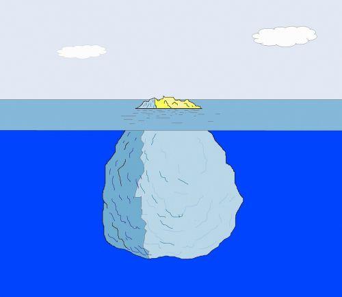 iceberg ice arctic