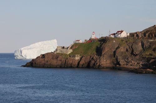 iceberg lighthouse st john's