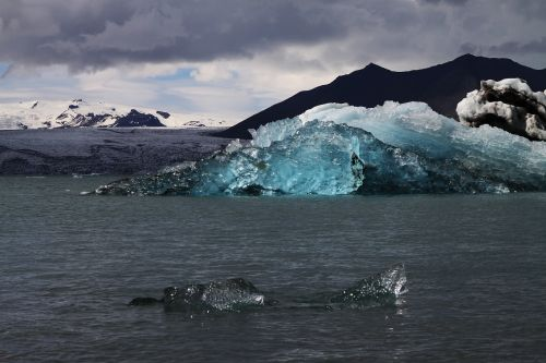 iceberg iceland glacier