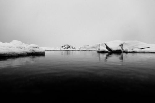 iceberg iceland floating ice