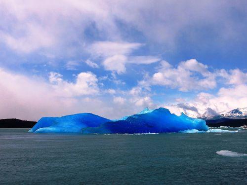 iceberg ice blue