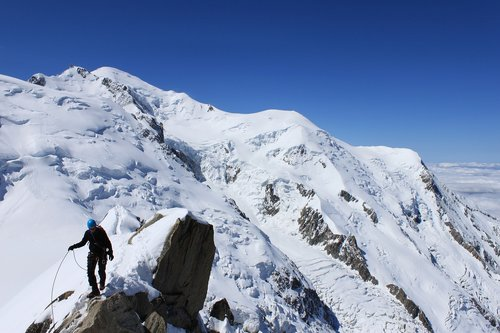 icecap  mountain top  peaks