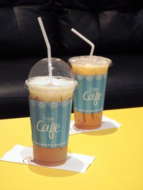Iced Coffee And Tea