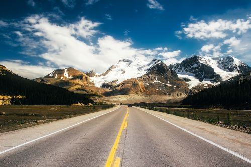 icefields parkway canada road