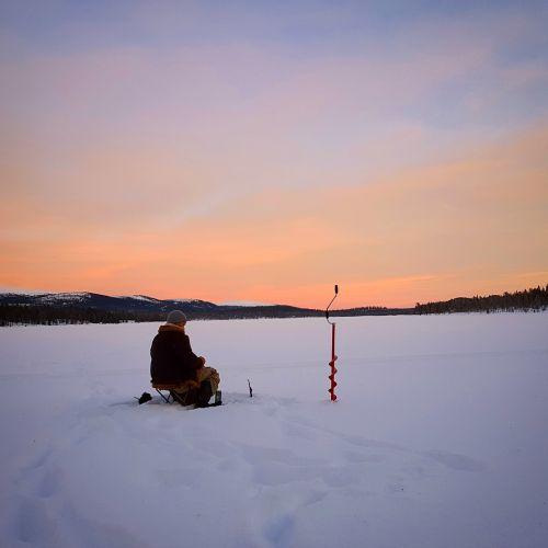 icefishing fishing ice
